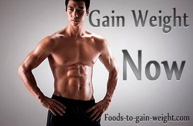 Weight gain diet for men