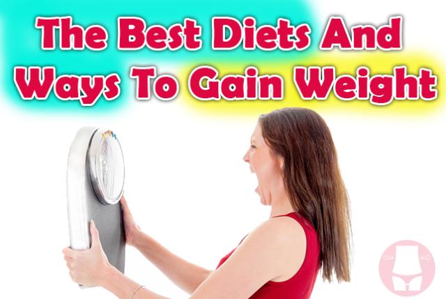 Vægtøgning Girl Alle måder at tage på i vægt hurtigt og-7443